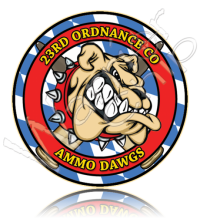 23rd Ordnance Company Ammo Dogs 10902