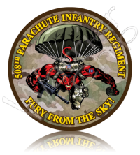 Army 508th Parachute Infantry Regiment 10919