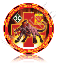 11035 1st Platoon, 2nd Battalion, 77th Field Artillery Regiment, Gatekeeper Medics