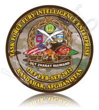Army Poker Chip Intelligence 10919