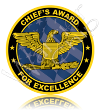 Chief's Award for Excellence 10935