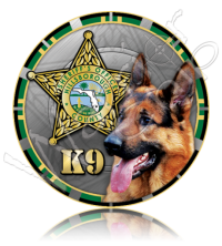 Hillsborough County Sheriff's Office K9 Unit 10641