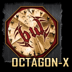OCTAGON-X Warrior Chip | Custom Military Poker Chips