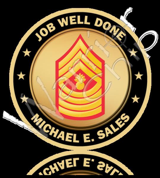 Marine Corps Military Poker Chips Custom Poker Chips Military